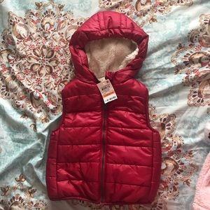 Warm baby vest